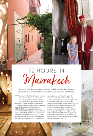 72 Hours in Marrakech