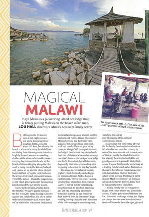 Magical Malawi: Kaya Mawa eco-odge on Likoma Island